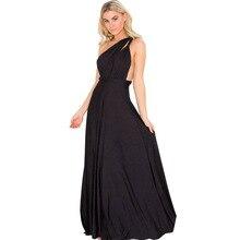 backless Sexy Women Boho Maxi Club Dress Bandage Long Dress Party Multiway Bridesmaids Convertible Robe Longue vestidos