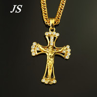 2015 Bling Hip Hop Dance Necklace Chunky Thick 24K Gold Chains For Men Colar Longo Masculion