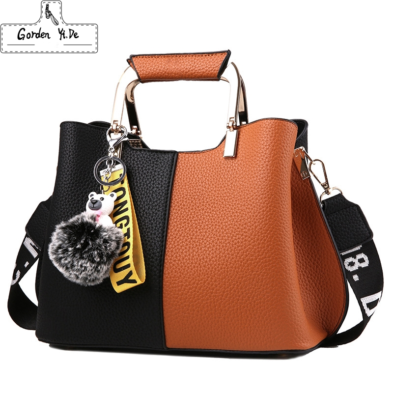Women Handbags Luxury Brand 2018 Fashion Leather Handbag Women Casual Tote Shoulder Bag Bucket Ladies Messenger Bag Sac a main free dhl women s handbag for boss bucket handbag speedy with strap bag fashion fashionable casual print handbag messenger bag