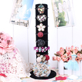 Princess hair accessory bracelet display rack bangle display frame jewelry holder hair fingdings accessory holder shelf