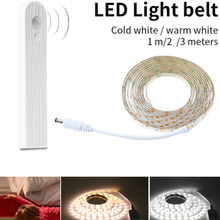 Led light 3528 2835 DC waterproof USB led strip Human body induction battery box cabinet For Living room