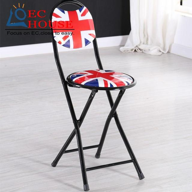 stool simple portable w training household leisure Folding conference cr round FREE SHIPPING