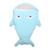 Pequeno shell tubarão Bonito dos desenhos animados do bebê saco de dormir recém-nascidos carrinhos de inverno cama swaddle envoltório cobertor da cama do bebê envelope S0004