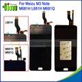 Для Meizu M3 Note M681H M681Q L681H 5.5 дюймов LCD дисплей + Сенсорный Экран Digitizer Замена Ассамблея Мейлань Примечание 3 Черный белый