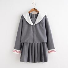 2017 summer school uniform set student uniform tie sailor suit set table costume japanese school uniform girl