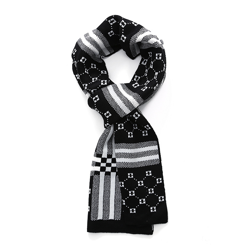 NEW Arrival Men Casual font b tartan b font scarves plaid design Male striped Scarf Fall