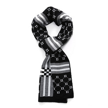 NEW Arrival Men Casual tartan scarves plaid design Male striped Scarf Fall Winter Fashion Soft wool acrylic scarf S09F7