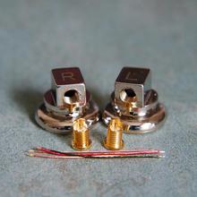 Чистая медь 15,4 мм металлический корпус для наушников mmcx разъем