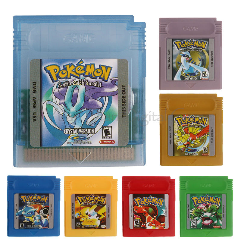 Nintendo GBC Game Video Card Pokemons Classic Collect Classic Colorful Edition ламинатор gbc 1100l 4400747eu