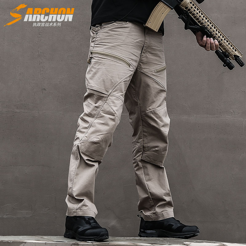 S.ARCHON Winter Waterproof Military Cargo Pants Men US Army Soldier SWAT Combat Pants Man Pocket Cotton Windproof Tactical Pants swat military style cargo jeans men casual motorcycle denim biker jeans stretch multi pockets tactical combat army jean