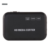 HD 1080P Media Player With HDMI VGA AV USB SD MMC Optical Output