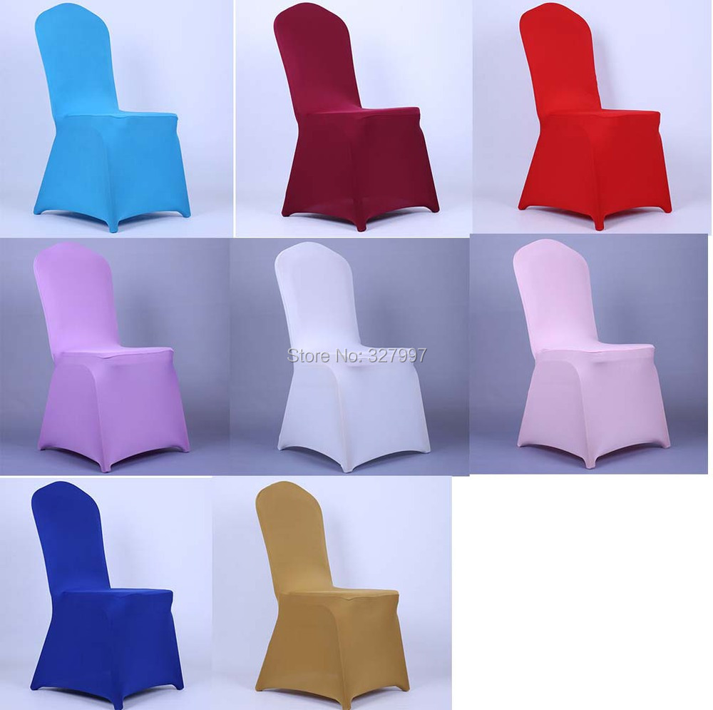 folding chair covers spandex ergonomic silicon valley universal wedding hotel stretch cover for chairs banquet event party decoration 8 colors 10pcs lot