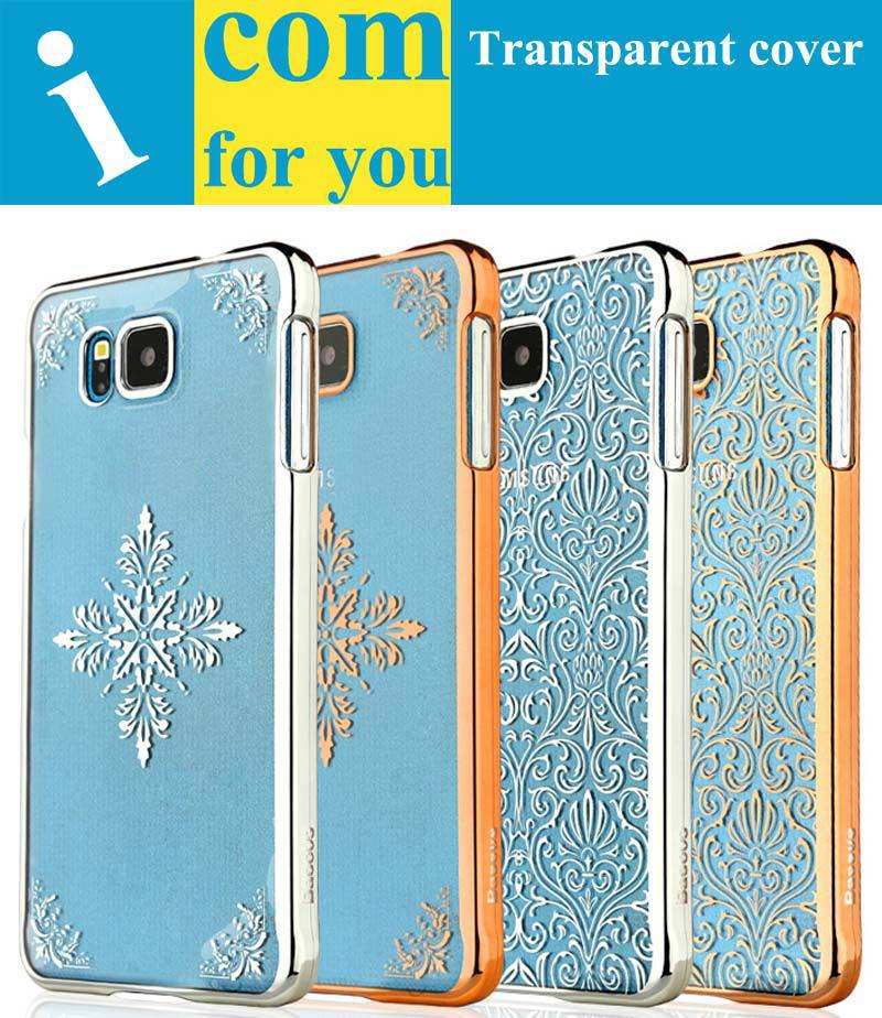 BASEUS Ultra-thin Transparent Crystal Clear Protector case cover Samsung Galaxy Alpha G850 G850F G850A G850T G850M - Shenzhen icomforyou Co.,ltd Store store
