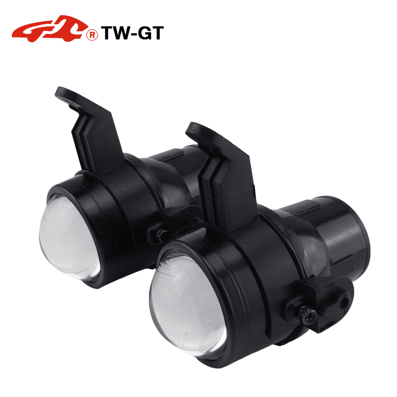 купить TW-GT 2.5 Inch hid bi xenon fog lamp projector lens foglight spot light H11 for CHEVROLET AGILE AVEO SPIN ONIX PRISMA SONIC недорого