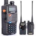 Nueva caminata charla Pofung Baofeng UV-5RA Para Walkie Talkies Policía escáner de Radio Vhf Uhf de Doble Banda de Radio de Jamón Cb walkie transceptor