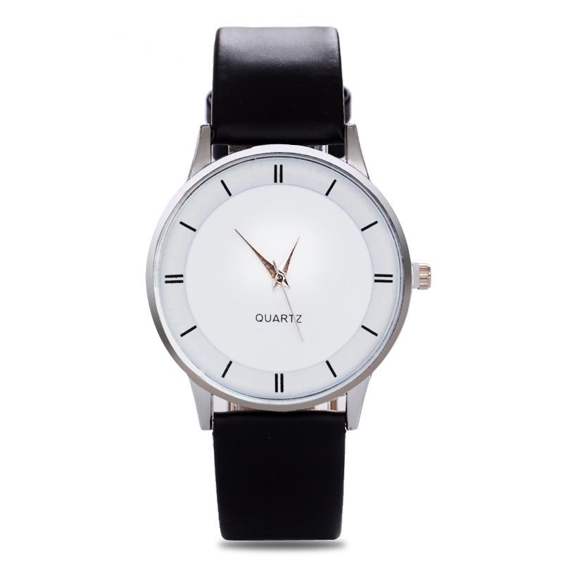 Leather Quartz Women Watch Top Brand Men Watches Fashion Casual Sport Wrist Watch Hot Sale Lovers Relogio Feminino Reloj Hombre