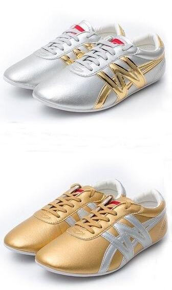 EU29~EU45 Kids&Adult Tai Chi Taiji Sneakers Wushu Kungfu Training Shoes Kung Fu Martial Arts Shoes Pink/blue/gold