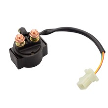 GOOFIT Starter Solenoid Relay for Yamaha YFA125 Breeze YFB259 Timberwolf 4x4 H056-017
