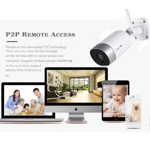 Image 4 - KingCam métal extérieur 4MP Wifi IP caméra HD 2.4G résistant aux intempéries Audio bidirectionnel Vision nocturne sans fil caméra de sécurité