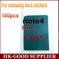 100 unids Para Samsung Galaxy nota4 N9106W N9108V N9109V pegatina Lcd pantalla de nuevo adhesivo freeshipping