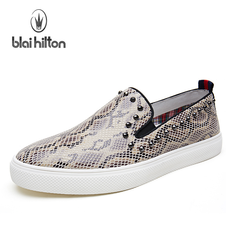 12e3f70594e7 2016 Korean Casual Shoes Genuine Leather Le Fuxie Male Shoe Summer Exceed  Soft Skate Shoe Rivet Dawdler Shoe Fashion Shoes