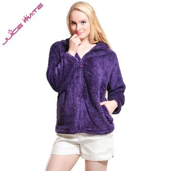 Women Girls Plus Size Snuggle Fleece Blouse Zip Fluffy Warm Hooded Sweatshirt Hoodie Ladies Loose Sweatshirt Jacket With Hood tights