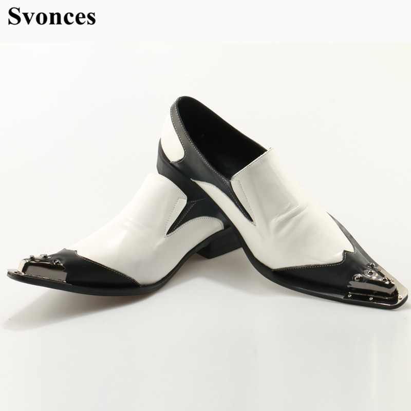 Drop Ship US Size 12 Mens Fashion Spikes White Party Shoes ...