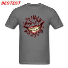 57eb0cc76 Mężczyźni Tshirt Joker Quinn T Shirt szalony młodzieży koszulka Laughing  złe facetów topy Marvel Tees komiksy