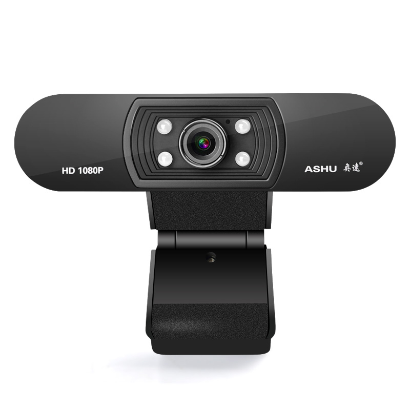 Webcam 1080 p, HDWeb Kamera mit Eingebautem HD Mikrofon 1920x1080 p USB Stecker n Spielen Web Cam, Widescreen Video