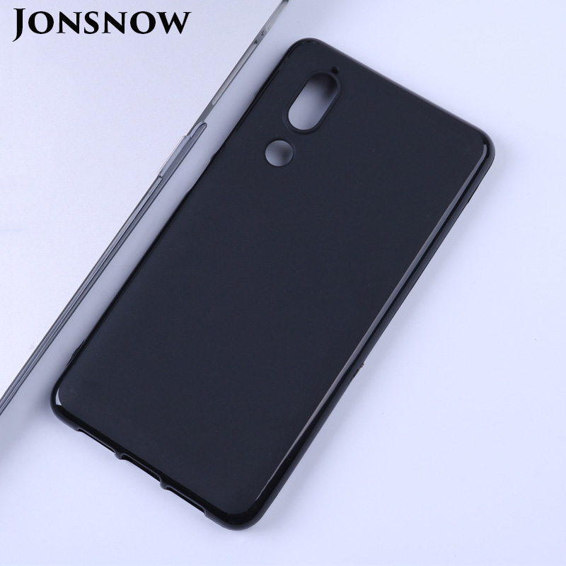 JONSNOW Soft-Case Phone-Back-Cover Anti-Skid Sharp Aquos C10-Protection Silicone  title=