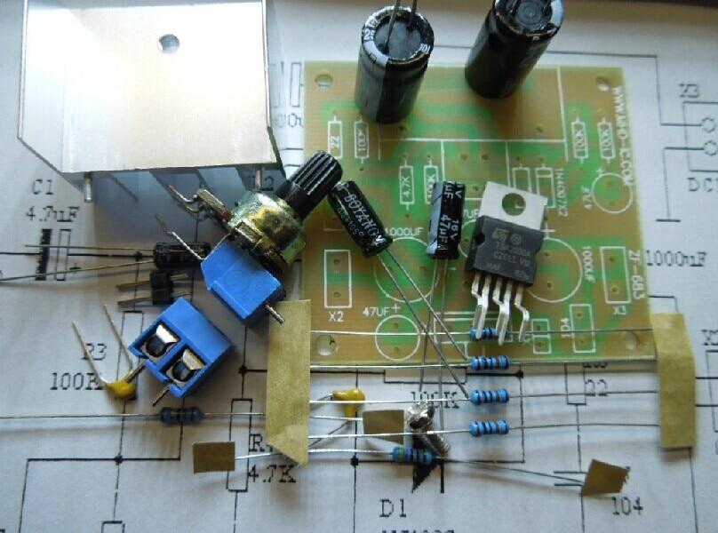 TDA2030A amplifier board mono TDA2030 mono amplifier board DIY kits lm1875t hifi 6j1 valve drive power amplifier board kits headphone amp kits 20w diy kits
