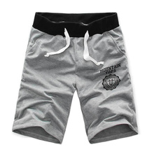 New Hot Men Shorts Pant Half Summer Beach Printing Breathabl