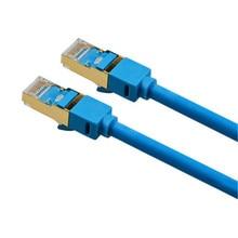 Sept types de réseau câble sans oxygène cuivre double blindé réseau connexion VKP03