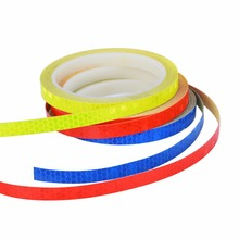 Car Styling Stickers and Decals 8M Reflective Motorcycle Bike Body Rim Stripe Tape Wheel Sticker Exterior Protective