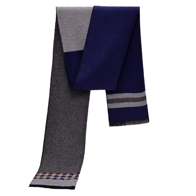 [Ode To Joy ]Luxury Design Men Scarf Classic Winter Warm Soft Fashion High Quality for Men Shawl Wrap LAYA005