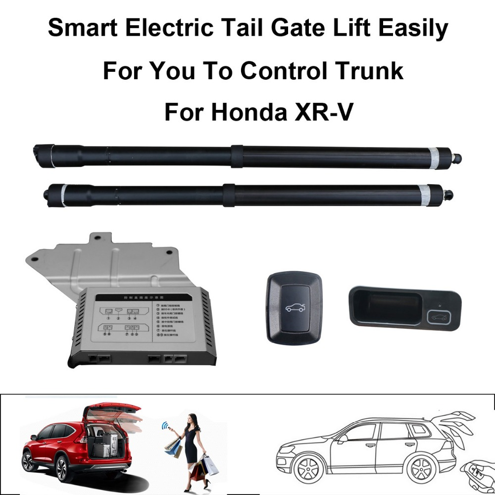 Smart Auto Electric Tail Gate Lift for Honda XRV XR-V Control by Remote Drive Seat Tail Gate Button Set Height Avoid Pinch