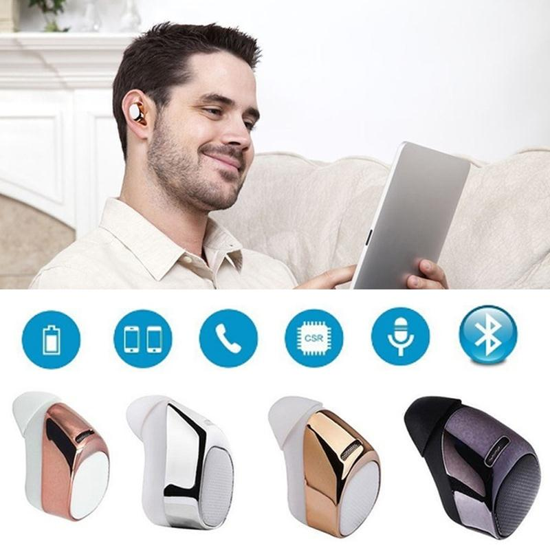Super Mini Bluetooth 4.1 Stereo Earphone Headphone Portable Wireless Earbuds Handsfree Headset with MIC 2010yr menghai dayi v93 puer ripe tea cake puerh shu tuo cha puerh tea 100g 5pieccs