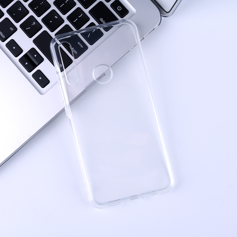 For UMIDIGI A5 Pro Case Clear Transparent Fit Casing TPU Silicone Soft Plain Anti knock for UMI A5 Pro Back Phone Cover Case in Half wrapped Cases from Cellphones Telecommunications