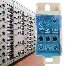UKK-160A Din Rail Terminal Block Distribution Box Universal Electric Wire Connector Power Junction Box