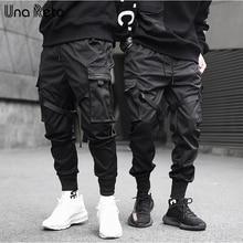 Una Reta pantolon erkekler yeni gelenler Casual Joggers Harem pantolon japon Slim fit Sweatpant Hip Hop pantolon adam Streetwear