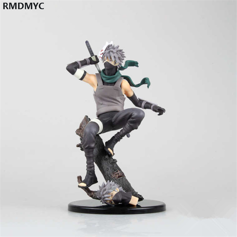 ФОТО RMDMYC 21 cm Naruto anime figures ( Kakashi Hatake) Action Figures toys The gift for anime lover and child with box Hot Product