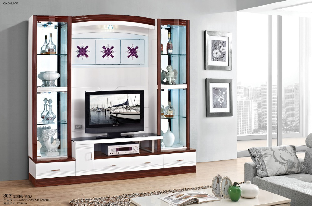 Modern Contracted Acrylic TV Stand TV Table TV Cabinet Lucite Couch Table  Perspex Side Table Living Room Furniture Console Table In TV Stands From  Furniture ...