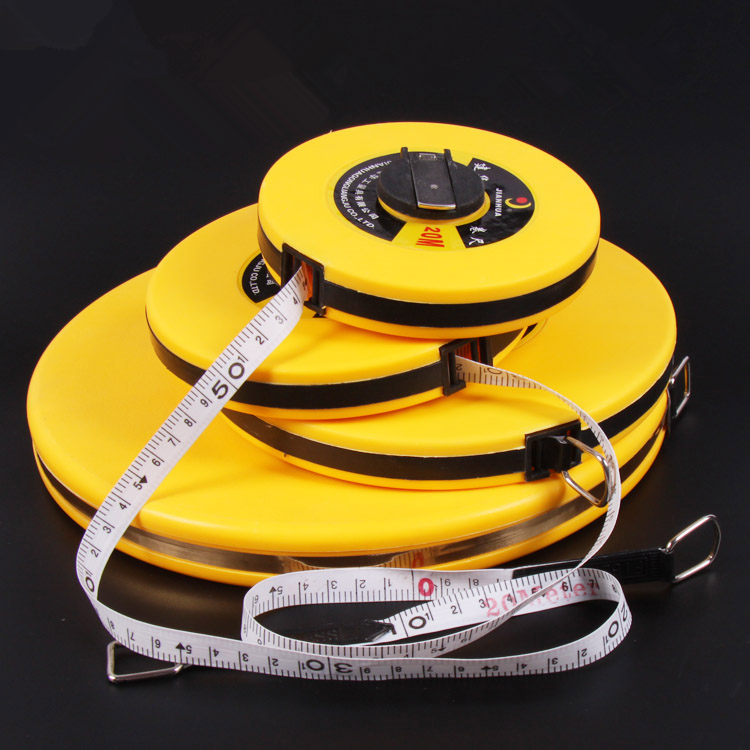 Glass fiber tape measuring scale of 20 meters 30 meters wave feet 50 meters 100 meters tape measurement tools 1000ml glass measuring cylinder