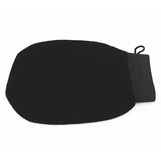 High Quality 1 PC Magic Black Exfoliator Bath Glove Body Cleaning Scrub Mitt Rub Dead Skin Removal Shower Spa Massage 1