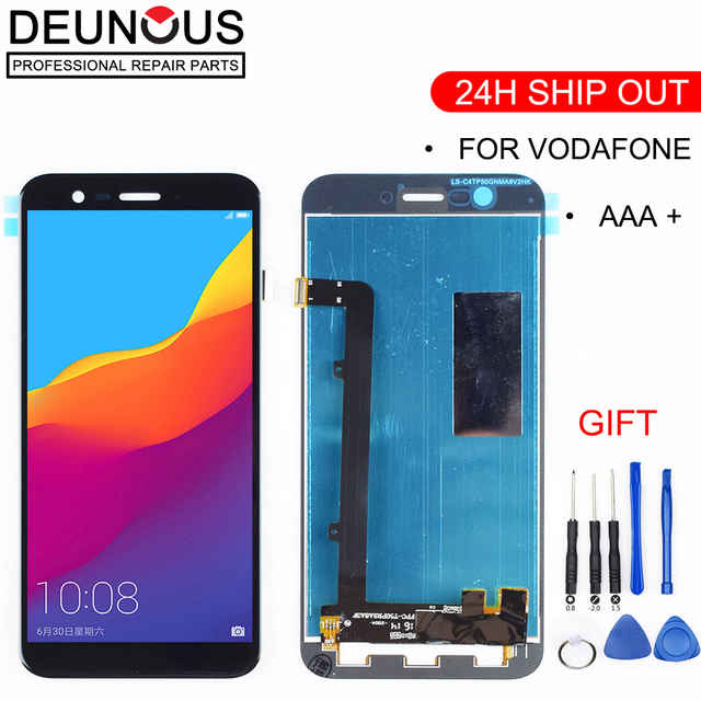 US $20 0 |New For Alcatel Vodafone Smart Prime 7 VF600 VDF600 VDF 600 600  LCD Display + Touch Screen Digitizer Full Assembly For VFD600-in Tablet  LCDs