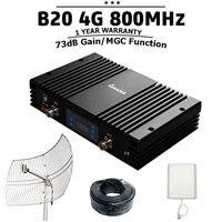 Lintratek B20 4G LTE 800mhz 73dB Gain Handy Cellular Signal Booster MGC Leistungsstarke Handy Signal Verstärker 4G Repeater $20