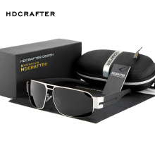 HDCRAFTER 2016 Mens Sun Glasses Fashion polarizing Glasses Driving Sunglasses Men Brand Ultraviolet Prevention Sunglasses