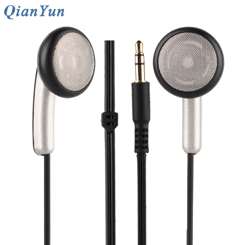 Original QianYun Qian39 HIFI Earphone Dynamic Earpieces Crystal Clear Monk Earbuds Qian 39 Flat Head Earplugs For Android IOS 100% original qianyun qian39 hifi headset in ear earphone 3 5mm flat head earbuds dynamic earbuds with optional plug type