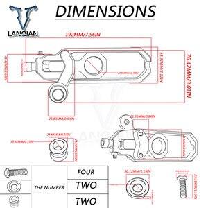 Image 5 - Aluminiowy CNC do motocykla akcesoria tylnej osi wrzeciona regulator łańcucha blok napinacze dla BMW S1000RR S1000RR HP4 2009 2016