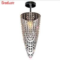110V 220V Modern Crystal Ceiling Lamp Indoor Lighting E14 LED Chandelier For Hallway Foyer Luminaria Abajur Plafon Fixtures